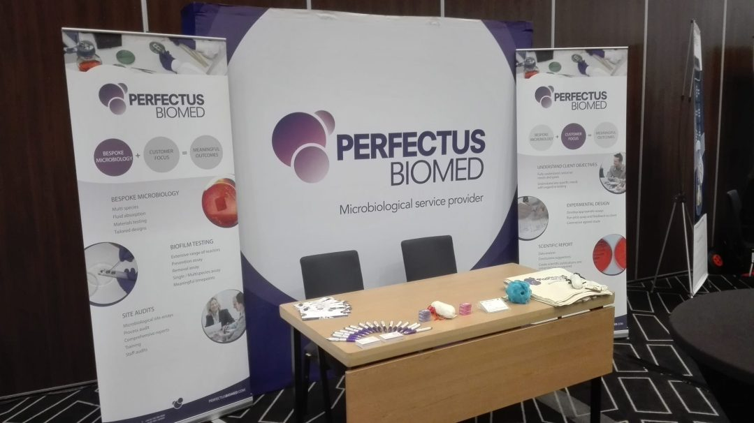Perfectus Biomed Exhibiting at Cleaning Products Europe 2018