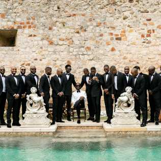 French Chateau Wedding in Fontainebleau France _43