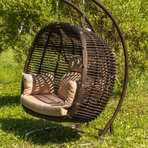 Подвесное кресло из искусственного ротанга в Севастополе