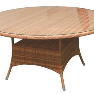 Большой круглый стол из ротанга в Севастополе