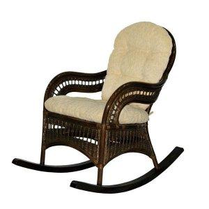 плетеное кресло-качалка Севастополь