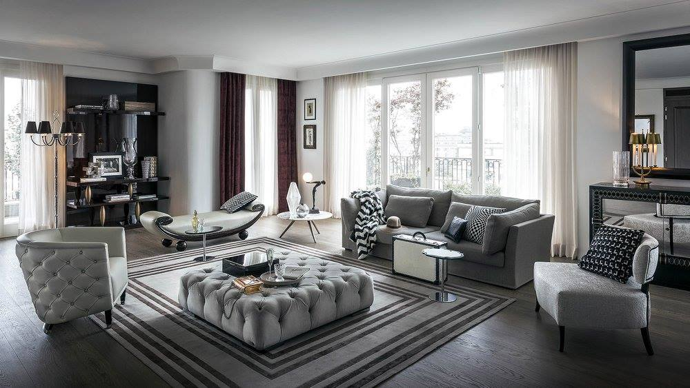 Gianfranco Ferré Home Collection Completes Royal Suite   Perfetto Luxury  Interiors