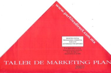 Taller de Marketing Plan 2007