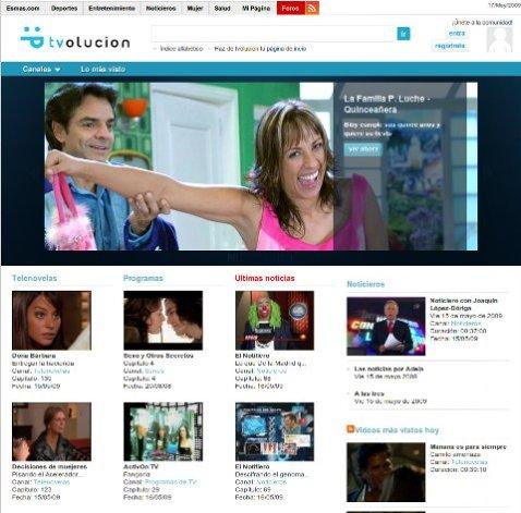 tvolucion-videos