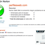 Norton Safe Web: Comprobar seguridad de un Sitio Web