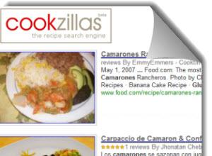 Cookzillas,buscador de recetas de cocina