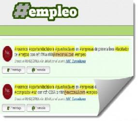 Tagempleo, buscar empleo a través de tweets