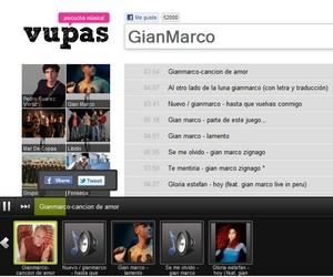 Vupas, buscador de música online