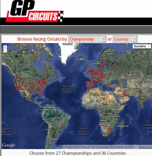 GPcircuits - conocer y vivir los circuitos de alta competición