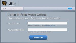 Blip.fm - escuchar música y ser un DJ online