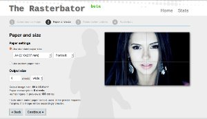 Rasterbator - crear posters con nuestras fotos