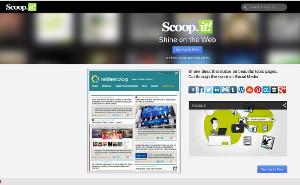 Scoop.it un marcador social para compartir contenido en la web