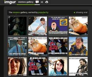 Imgur - ahora es posible crear memes online gratis