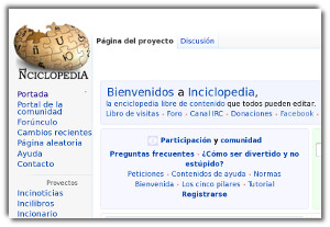 Inciclopedia - una enciclopedia divertida al estilo de Wikipedia