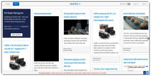 MultiPLX – lector de feeds con estilo Pinterest
