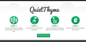 QuietThyme - crea tu librería virtual online gratis
