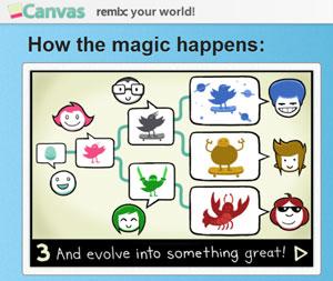 Canv.as – una red social para compartir, votar y recompartir imágenes