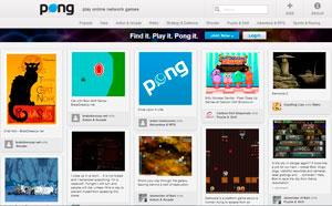 Pong - el Pinterest de los juegos flash