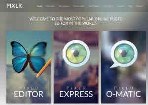 Pixlr - 3 editores de fotos online en uno