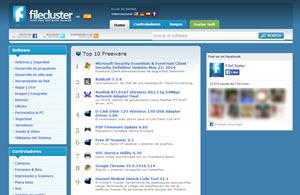 Filecluster, directorio online con miles de programas, juegos y drivers