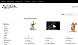 Gif Animations, cientos de gif animados para descargar gratis