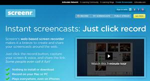 Screenr, aplicación online para grabar la pantalla de tu PC