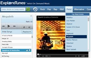 ExploreTunes - buscador de música online gratis con más de 200 mil temas