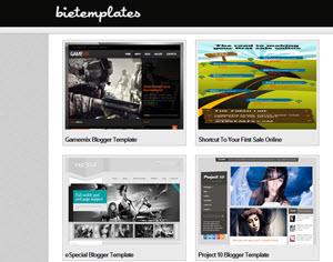 Bietemplates, sitio web para encontrar plantillas gratuitas para Blogger