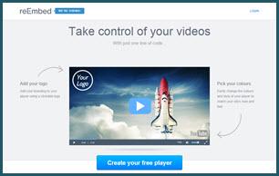reEmbed - reproductor de videos personalizado para tu blog