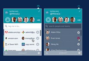 Mitro - administrar todos los accesos a sitios web y redes sociales