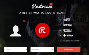 Restream - transmite tus partidas de videojuegos en multiples plataformas de streaming