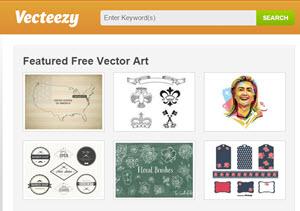 Vecteezy - galería con imágenes vectoriales gratuitos