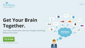 Thinkery - herramienta para tomar notas alternativa gratuita a Evernote