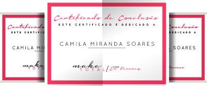 Certificado de Conclusão curso Make Total