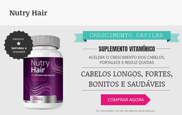 Site oficial do Nutry Hair