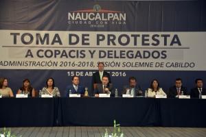 Toma de Protesa a COPACIS y Delegados