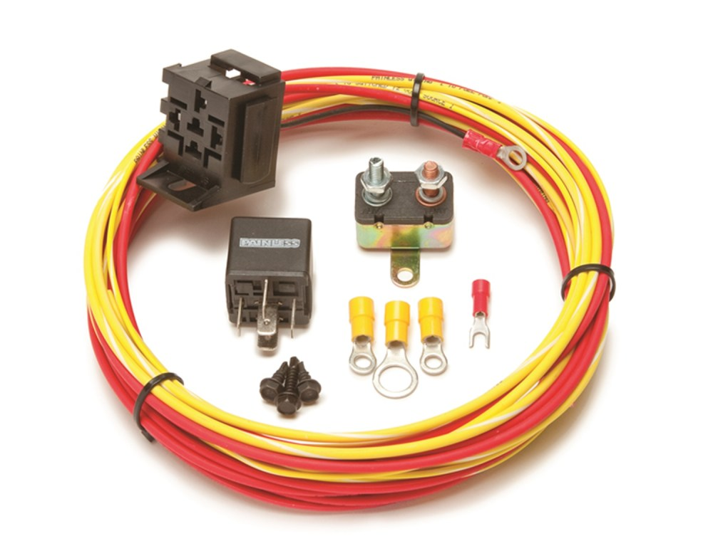 medium resolution of painless 50102 electric fuel pump relay kit