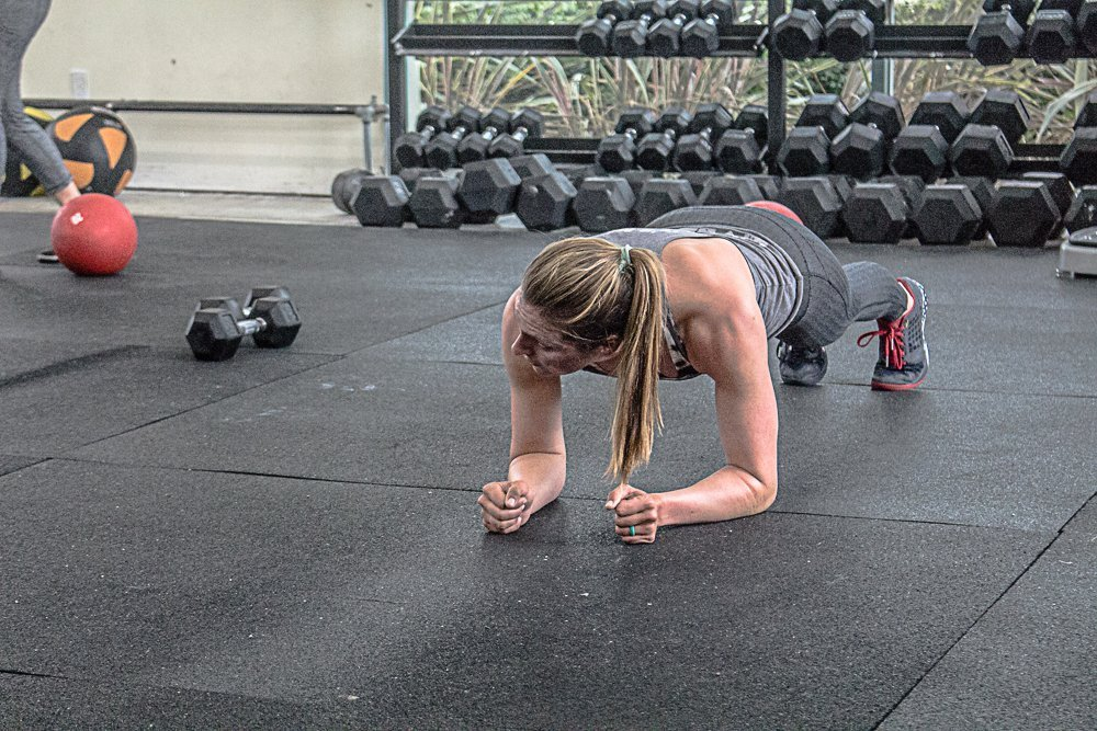 A Better Way to Train the Core High Plank Pull Through