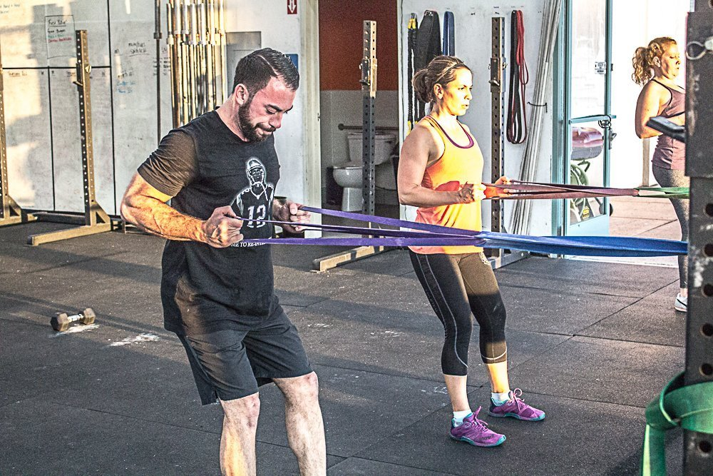 Band Rows and Pulls for Healthier Shoulders