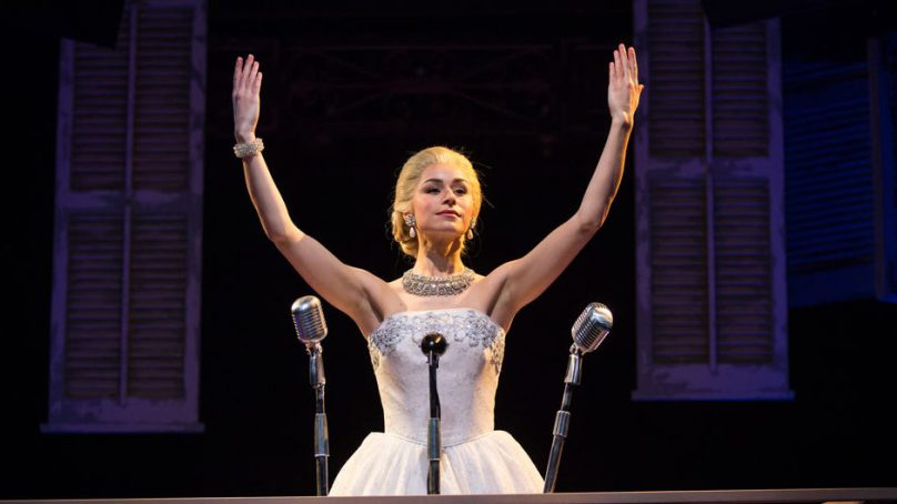 Vocally Victorious EVITA Rouses at Marriott