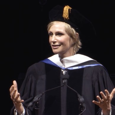 VIDEO: Jane Lynch's Jaw-Dropping Anti-Commencement Speech is a Must-See for Artists