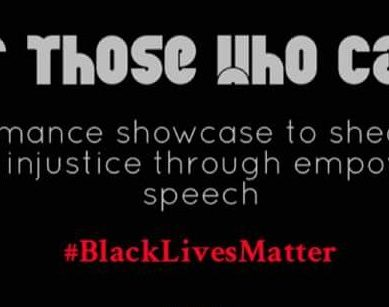 FOR THOSE WHO CAN'T Fights for Social Justice and #BlackLivesMatter Through Art