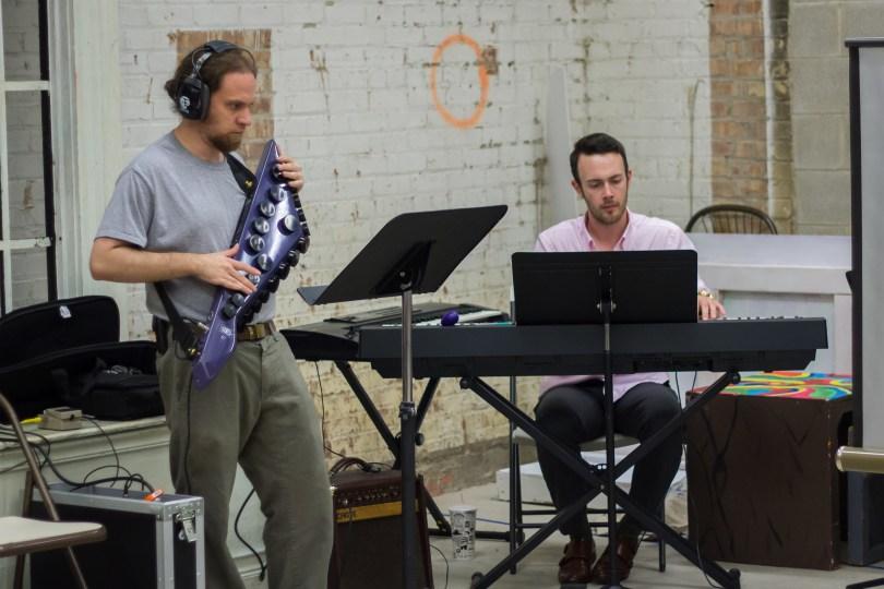 (l-r) Jon Levitt and Justin Harner. Photo by Zach Dries