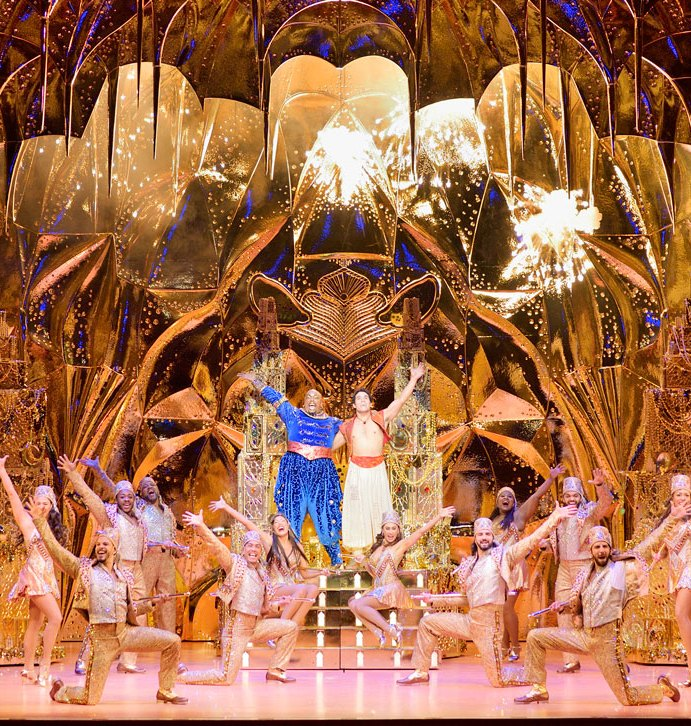 Glitz and Glamor Covers Unfocused Adaptation in Disney's ALADDIN