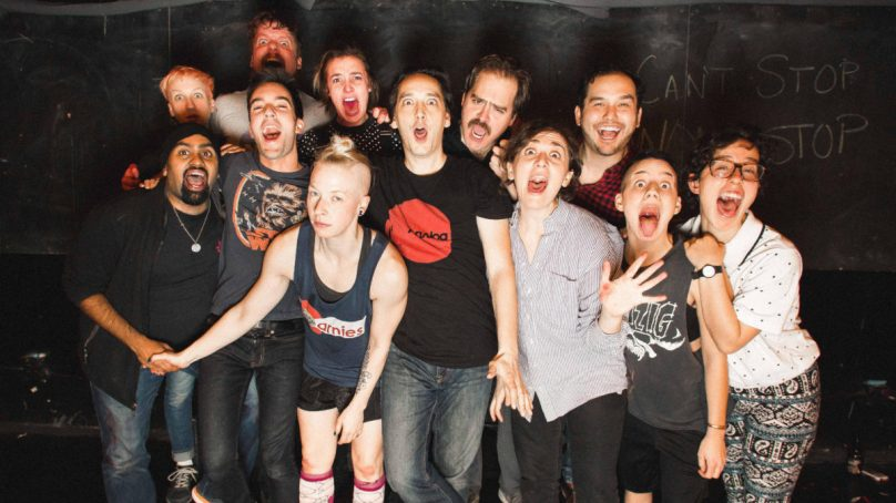 Neo-Futurists Set 17-18 Season