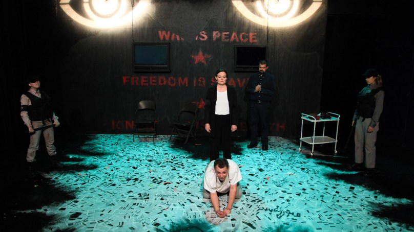 Review: 1984 at AstonRep Theatre