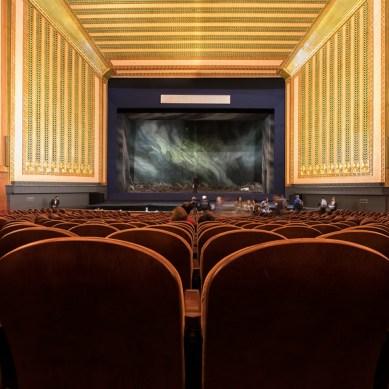 Joffrey Ballet Leaves Auditorium for Lyric Opera House