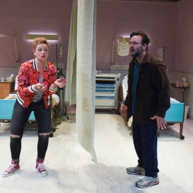 Review: A FUNNY THING HAPPENED ON THE WAY TO THE GYNECOLOGIC ONCOLOGY UNIT AT MEMORIAL SLOAN-KETTERING CANCER CENTER OF NEW YORK CITY at Route 66 Theatre Company