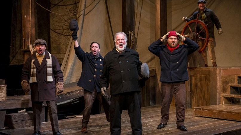 Review: THE CHRISTMAS SCHOONER at Mercury Theater Chicago