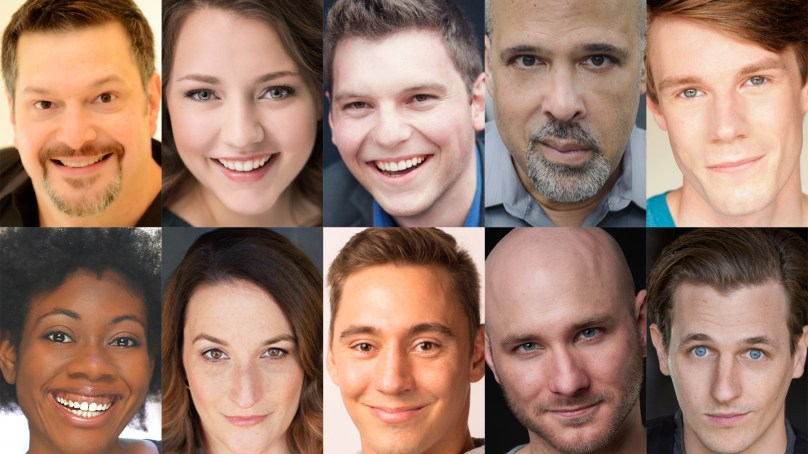 Cast Set for BURNHAM'S DREAM: THE WHITE CITY
